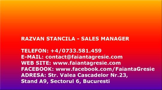 BUSINESS CARD DESIGN - RAZVAN STANCILA